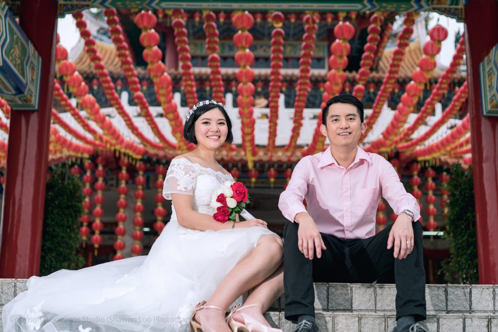 Collection: Pre-Wedding | Photographer: Shawn Loo | Client: Kah Hong & Kim San | Location: Temple Thian Hou