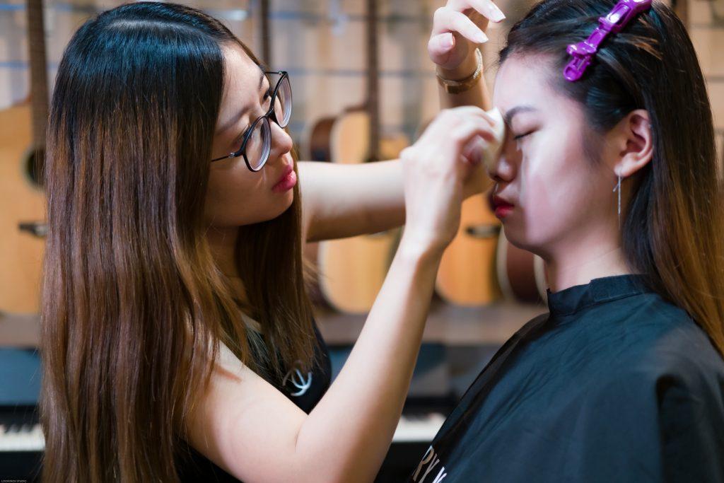 DSCF7786 | Behind the Scene - Make Up