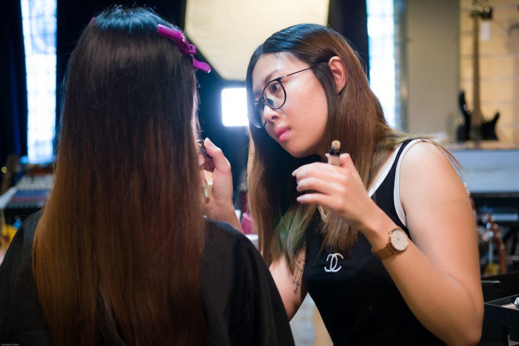 DSCF7790 | Behind the Scene - Make Up